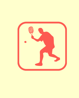 Squash Game Logo Wallpaper for Nokia Asha 311