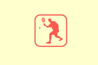 Squash Game Logo Wallpaper for Android, iPhone and iPad
