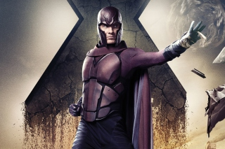 Kostenloses Michael Fassbender X Men Days Of Future Past Wallpaper für Android, iPhone und iPad