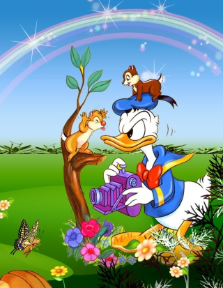 Free Donald Duck Picture for HTC Titan