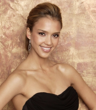 Картинка Jessica Alba in Dress на Nokia C2-02