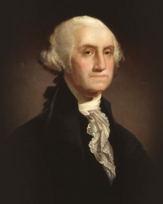 George Washington Background for Nokia Asha 311