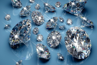 Sparkling Diamonds Picture for HTC Desire HD