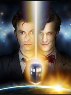 Screenshot №1 pro téma Doctor Who 240x320