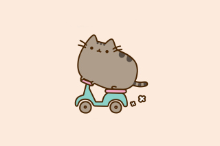 Free Kawaii Neko chan Picture for Sony Xperia Z2 Tablet