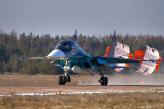 Su34 Sukhoi Picture for Android, iPhone and iPad
