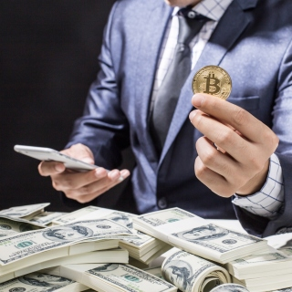 Bitcoin Money Business - Fondos de pantalla gratis para iPad Air