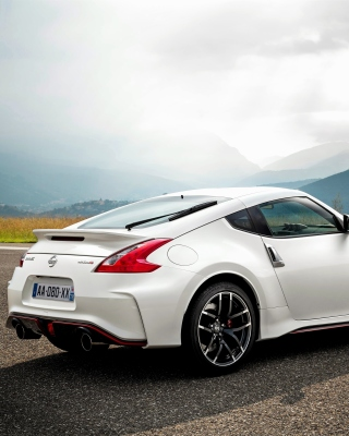 Nissan 370Z Background for Nokia C6