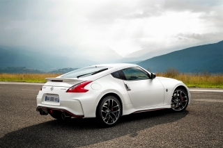 Nissan 370Z Background for Samsung I9080 Galaxy Grand