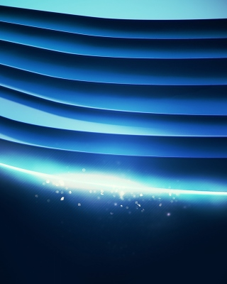 Free Blue background wallpaper Picture for Nokia Asha 306
