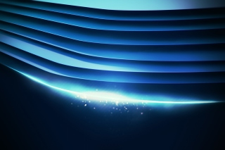 Blue background wallpaper Wallpaper for Nokia X2-01