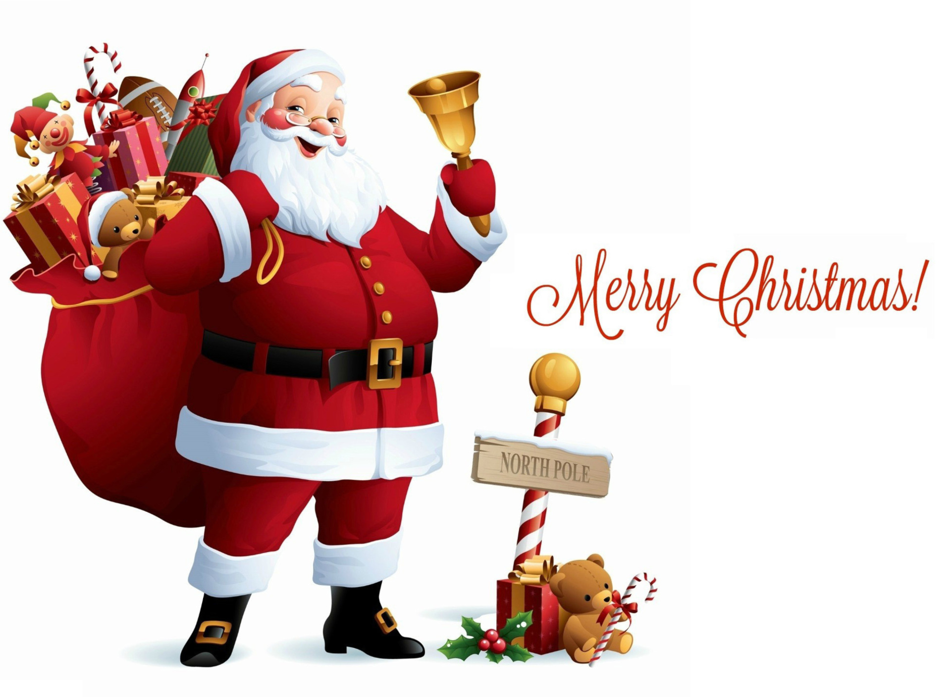 Screenshot №1 pro téma HO HO HO Merry Christmas Santa Claus 1920x1408