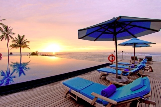 Kostenloses Luxury Wellness Resort in Tropics Wallpaper für Fullscreen Desktop 1280x1024
