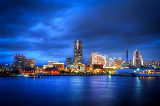 Japan, Yokohama, Kanagawa Prefecture Background for Android, iPhone and iPad