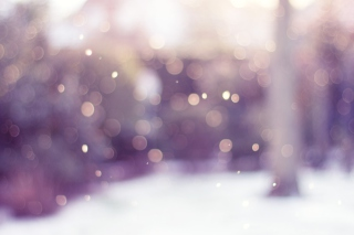 Winter Bokeh Wallpaper for Samsung Galaxy Ace 4