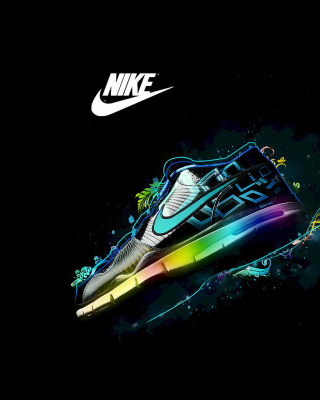 Nike Logo and Nike Air Shoes sfondi gratuiti per Nokia 5800 XpressMusic