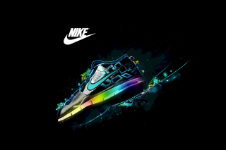 Nike Logo and Nike Air Shoes Background for Android, iPhone and iPad