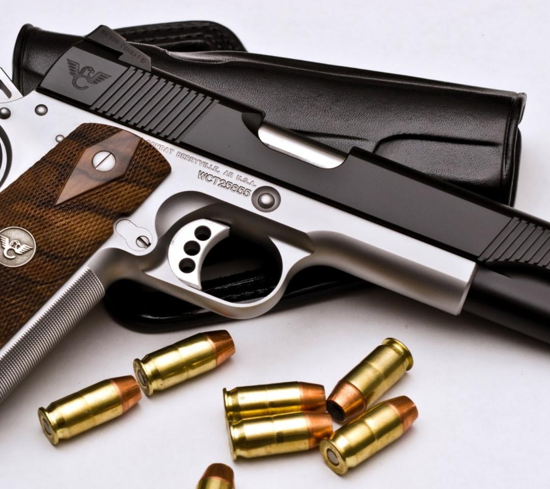 Pistol and Bullets para Motorola RAZR XT910