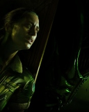 Screenshot №1 pro téma Alien Isolation Game 128x160