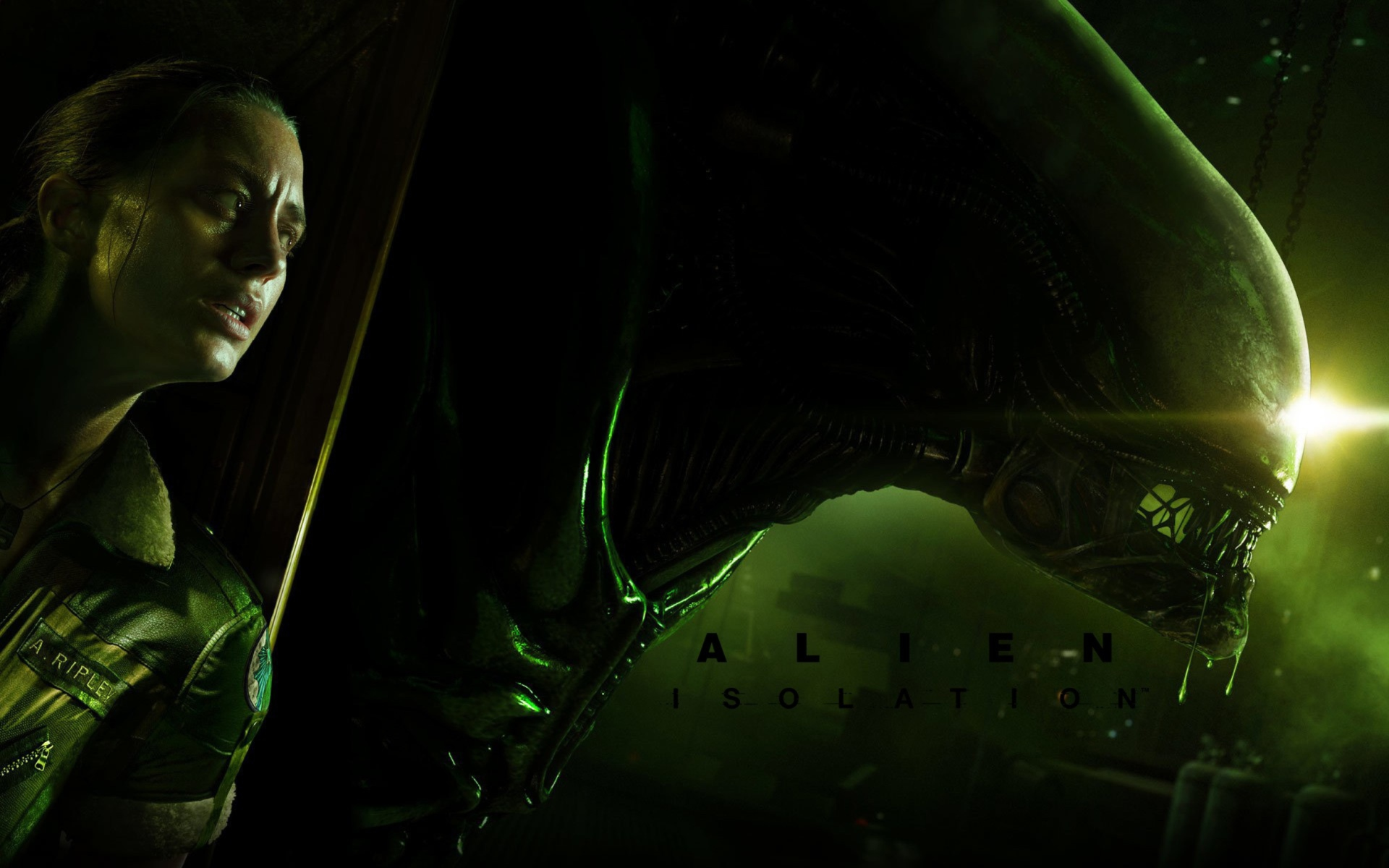 Screenshot №1 pro téma Alien Isolation Game 1920x1200