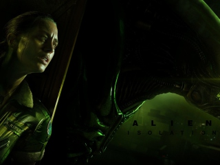 Screenshot №1 pro téma Alien Isolation Game 320x240
