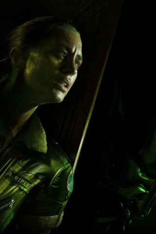 Screenshot №1 pro téma Alien Isolation Game 320x480