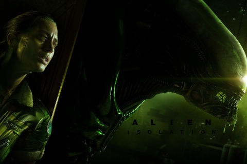 Screenshot №1 pro téma Alien Isolation Game 480x320