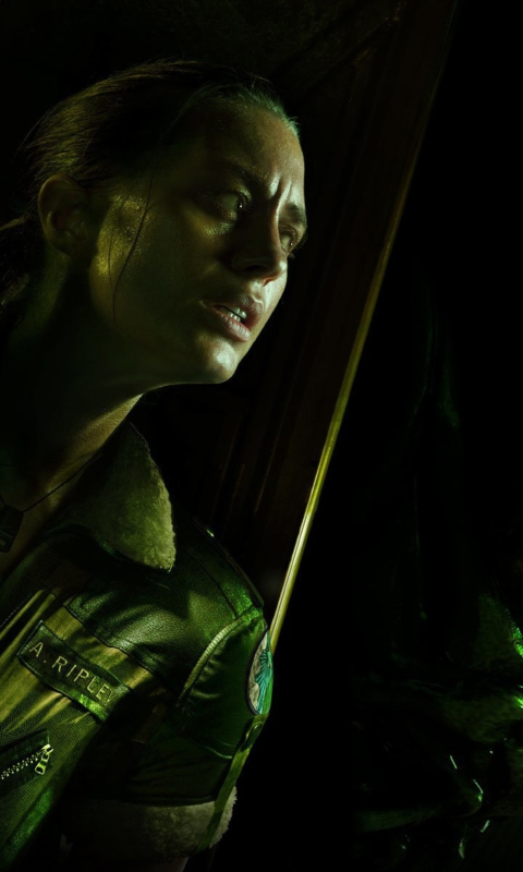 Screenshot №1 pro téma Alien Isolation Game 480x800