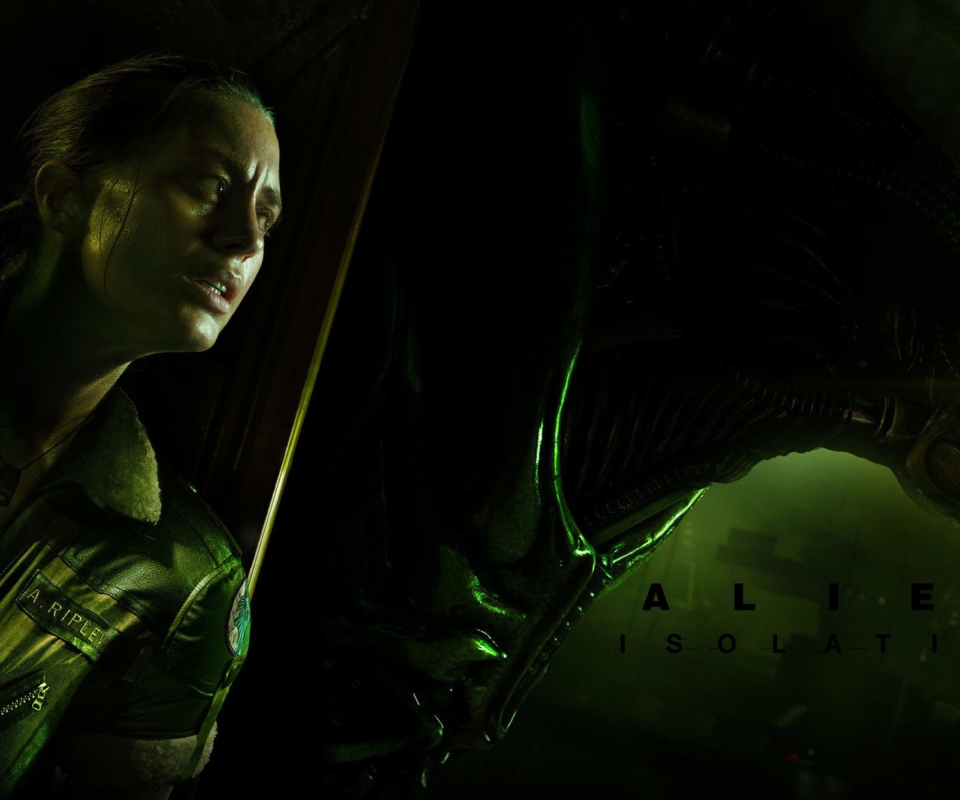 Screenshot №1 pro téma Alien Isolation Game 960x800