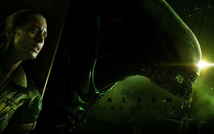 Screenshot №1 pro téma Alien Isolation Game