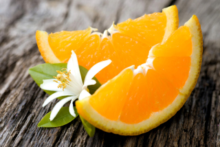 Orange Slices Picture for Android, iPhone and iPad