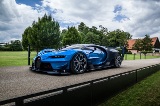 Bugatti Chiron Vision Gran Turismo Wallpaper for Android, iPhone and iPad