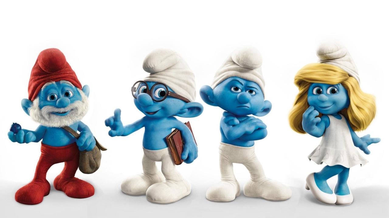 Smurfs 2011 Movie