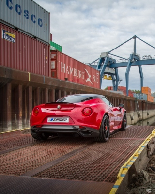 Alfa Romeo 4C Picture for Nokia Asha 311