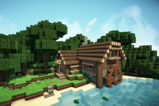 Minecraft Game Picture for Android, iPhone and iPad