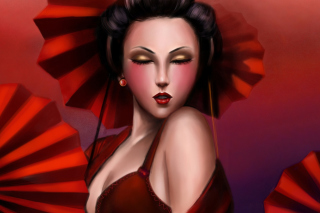 Free Geisha Picture for Android, iPhone and iPad