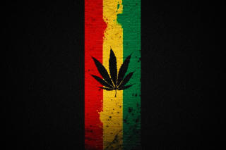 Leaf Rasta Background for 640x480