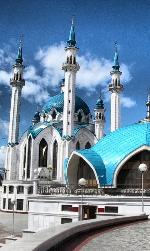 Mosque wallpaper 480x800