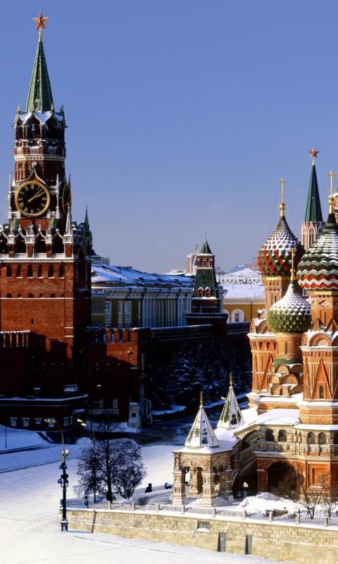 Картинки для телефона кремль