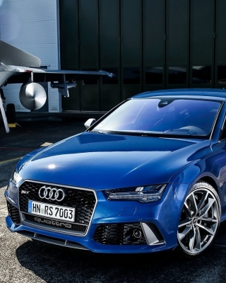 Audi RS7 Background for iPhone 6 Plus