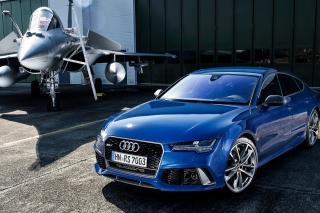Audi RS7 Background for Android, iPhone and iPad
