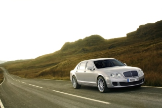 Bentley Continental Flying Spur Background for Android, iPhone and iPad
