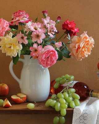 Beauty Still Life Background for Nokia C1-01