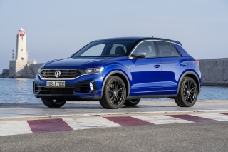 Volkswagen T Roc R 2020 Wallpaper for Samsung Galaxy Ace 3