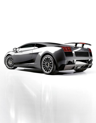 Lamborghini Gallardo Superleggera Background for 240x320