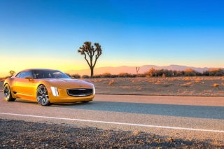 Kia GT4 Stinger Concept Auto Background for Android, iPhone and iPad