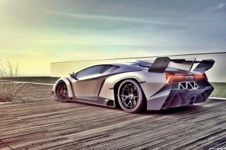 Lamborghini Veneno Background for Android, iPhone and iPad