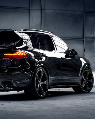 Porsche Cayenne Turbo S sfondi gratuiti per iPhone 6 Plus
