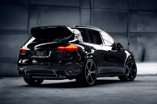 Porsche Cayenne Turbo S Background for Android, iPhone and iPad