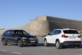 Bmw X1 Background for Android, iPhone and iPad